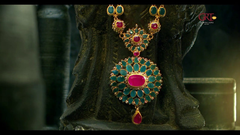 GRT Jewellers Ruby Emerald Collection