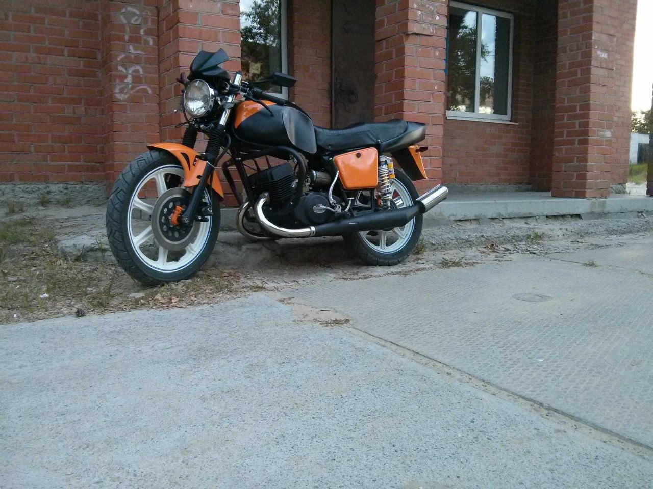 мотоцикл иж ю 5 тюнинг: