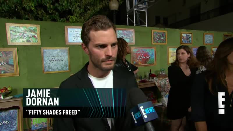 Jamie Dornan Reacts to E Peoples Choice Awards Nomination