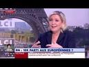 Marine Le Pen était ce matin l'invitée de LCI :