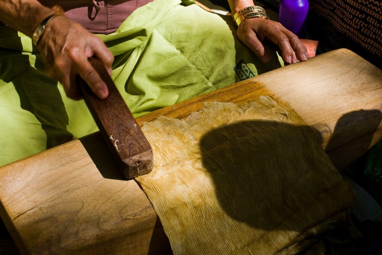 выбивание ткани капа