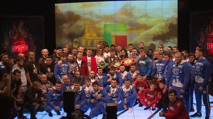 В Грозном на ринге спорт холла Колизей @sport hall colosseum состоится Международный турнир Время Легенд Возрождение