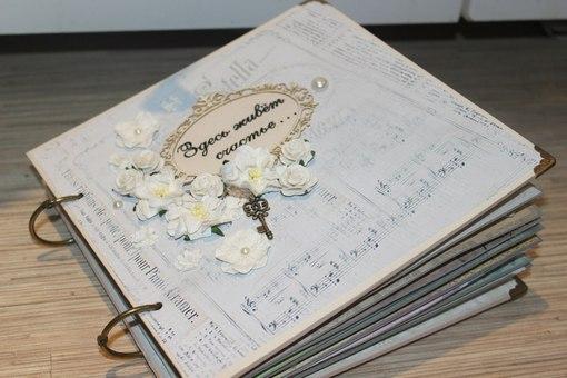 Альбом подруге на свадьбу своими руками 66