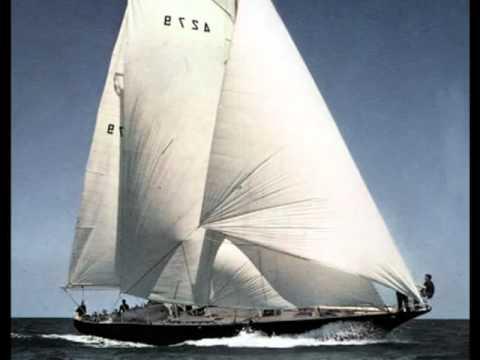 Hommage à Eric TABARLY Pierre BACHELET - le voilier noir
