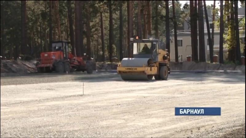 Барнаульцы возмущаются массовой вырубкой соснового бора у перинатального центра