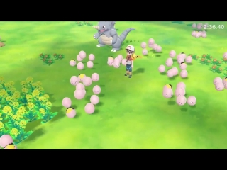 Video A new video showcasing interactions in the world of Kanto in Pokémon Lets Go, Pikachu! Lets Go, Eevee!