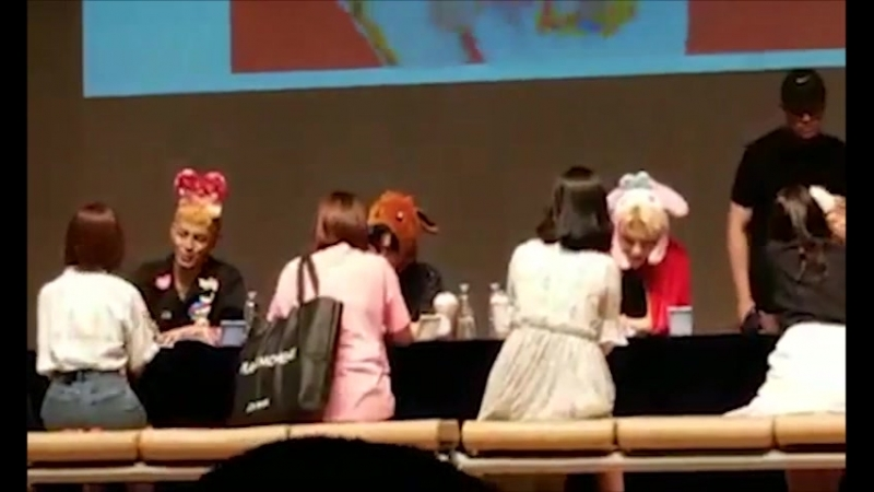 FANCAM | 22.06.18 | A.C.E @ 5th Fansign in Donja Art Hall
