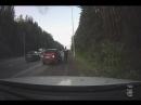 Решили устроить гонки массовая авария на Режевском тракте попала на запись видеорегистратора