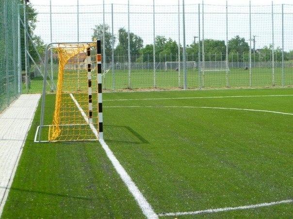 Виды футбольных полей и газонов