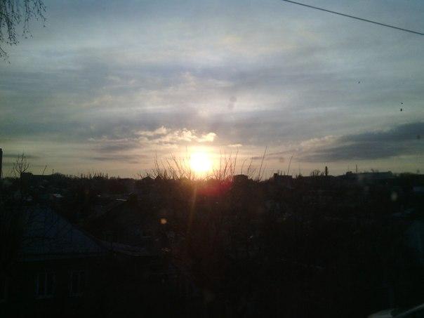 Закат в 17:49