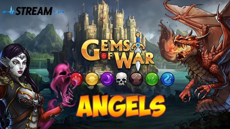 Gems of War | AngelS | Стрим 8