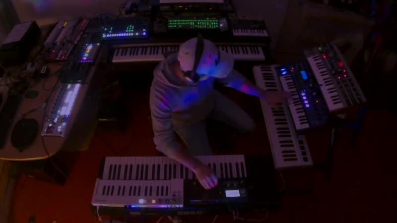 "Ambient Analog Trance Jam ""Beyond Horizon "" System 1m Microbrute Blofeld"