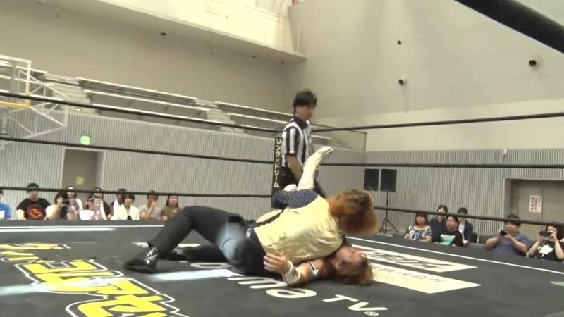 Kazuki Hirata vs. Mizuki Watase (DDT - Road to Ryogoku 2018 ~ Dramatic Dream Tor no Shiun)