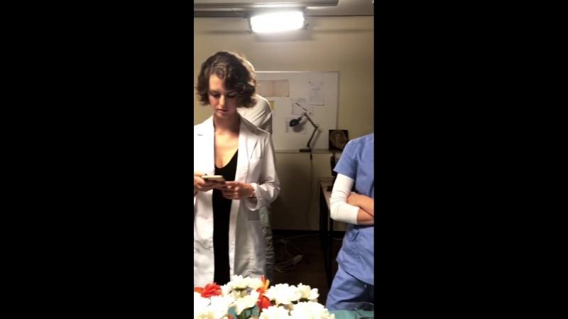 Съемки Тест на беременность 2 видео 2