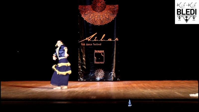 Raïssa Leï MA FR Danse Amazigh Marocaine Cheulha Souss @Atlas Folk Festival Russia