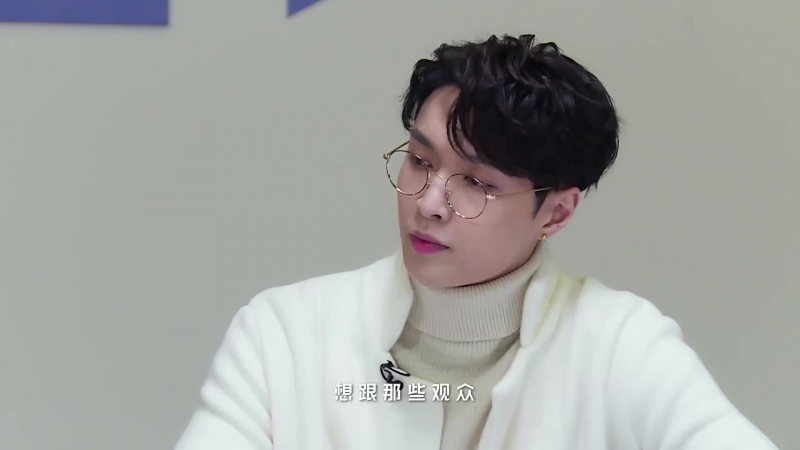 180119 EXO Lay Yixing @ Idol Producer Behind The Scenes