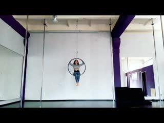 Aerial hoop|Воздушное кольцо|Тренер Светлана Григорьева