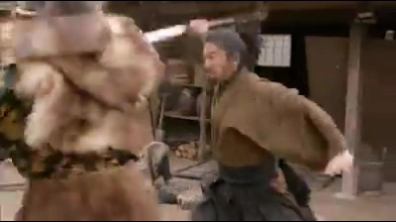 Схватка на мечах Takuya Kimura as Miyamoto Musashi