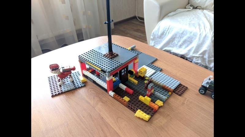 BIS1. Обзор разводного дома Lego. 2