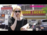 Emma Roberts Stops By Liquor Locker On The Sunset Strip In West Hollywood 6.24.16