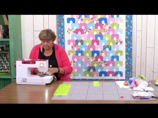 Make a Scallop City Quilt with Jenny!