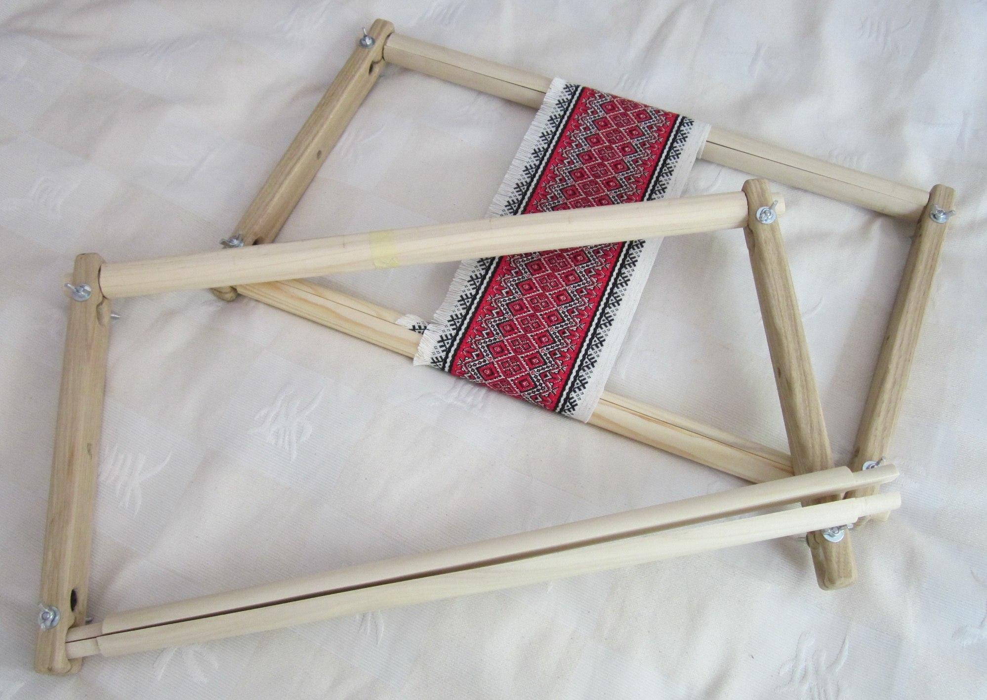 Пяльцы-рамка для вышивания сделать своими руками