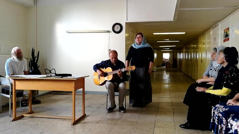 Концерт Бориса в Вецмилгрависе домовая церковь в Rīgas Rīnūžu vidusskola видео 3
