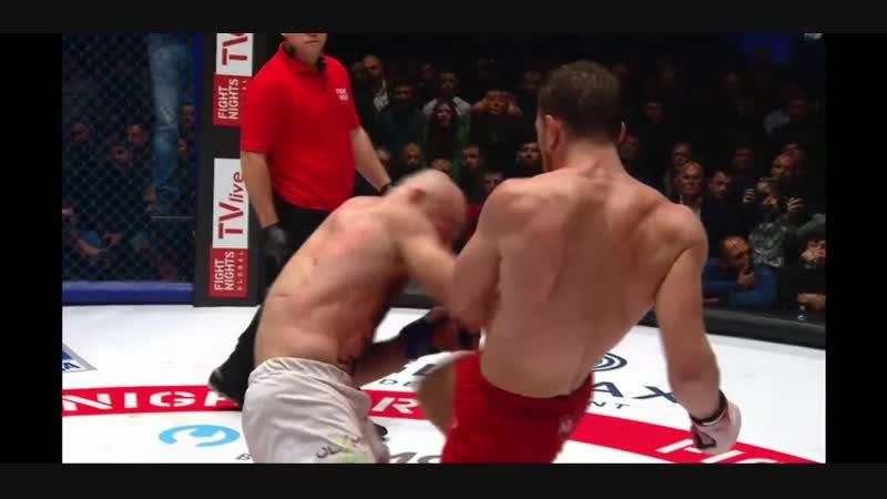 Магомед Исмаилов - Владимир Минеев. Magomed Ismailov vs Vladimir Mineev. Fight Nights Global 90. MMA. 19.10.2018