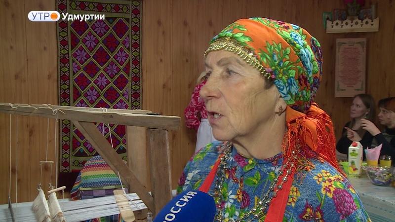 Мастер классы по ткачеству организовали в деревне Подшивалово