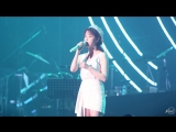 [FANCAM] 180714 @ IU - Through the Night at Yoon Mirae's Solo Concert Fancam by skylasie