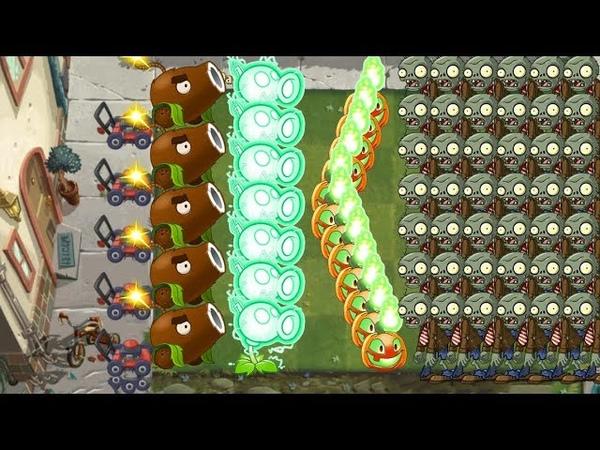 Plants vs Zombies 2 - Coconut Cannon, Jack O'Lantern, Laser Bean