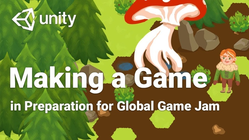 Making a 2D Game in Unity in 2 Days Preparing for Global Game Jam