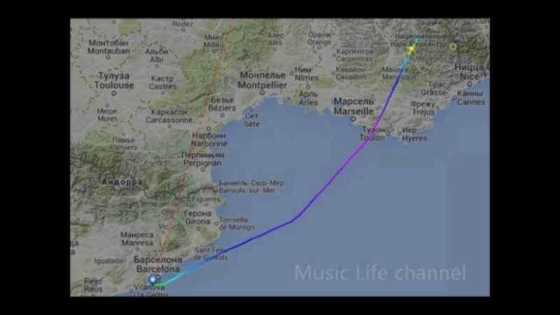 Аудиозапись последней минуты перед крушением Airbus A320 crash Airbus A320