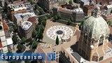 Cities Skylines - E u r o p e a n i s m I - A central plaza &amp main train station