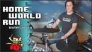 Home World Run OST Waterworks On Drums The8BitDrummer