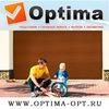 Компания Оптима г. Пятигорск - гаражные ворота  