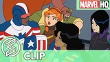 SNEAK PEEK at Marvel Rising Secret Warriors -