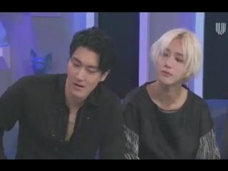 180508 Super Junior в мексиканской программе Montse Y Joe