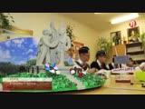 Конкурс на лучший макет мемориала города воинской славы-Ученикам из третьей школы посёлка Пурпе достался город Калач-на-Дону.
