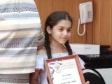 награждение школьников в Сакмарском районном суде