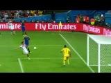 Финал Чемпионата Мира по футболу 2014. Аргентина Германия 0-1. Гол Гётце!!!