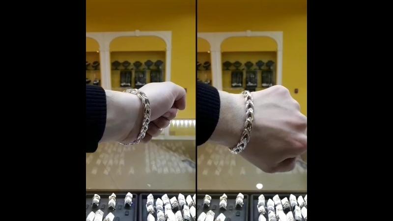 Солидный браслет по образцу ювелирной мастерской