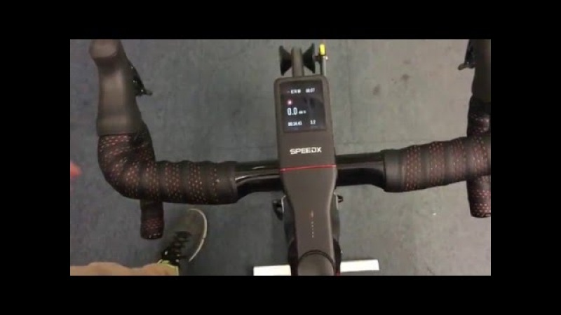 SpeedX Leopard Aero Road Bike with Integrated Cycling Computer