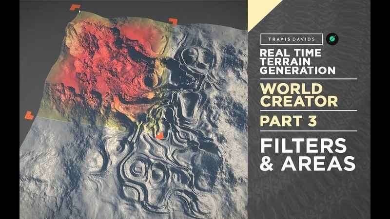 World Creator Introduction - PART 3 - Filters Areas