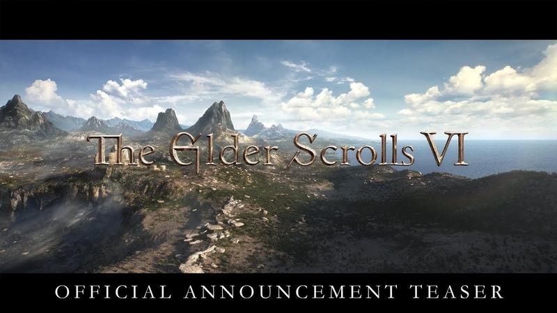 АААААААААА The Elder Scrolls VI Official E3 Announcement Teaser