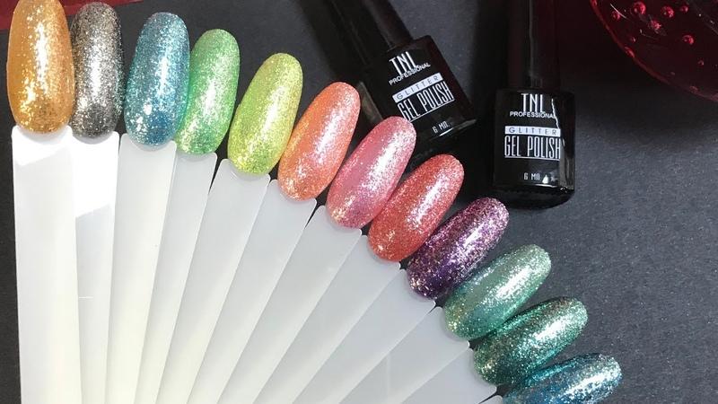 Видеообзор Гель-лак TNL Professional Glitter