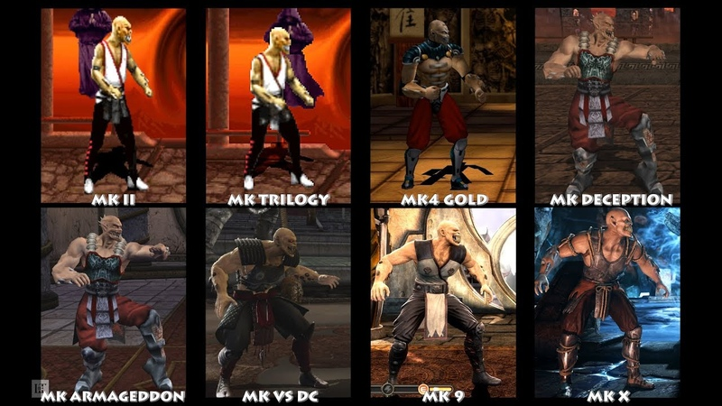 Mortal Kombat BARAKA Graphic Evolution 1993-2015 | ARCADE DREAMCAST XBOX PC | PC ULTRA
