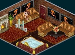 Комнаты аватарии без мебели золотая ванная комната фото