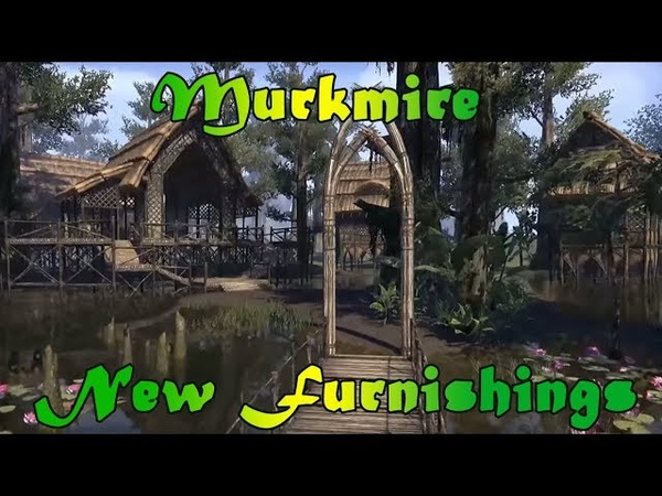 ESO Murkmire DLC Furnishings