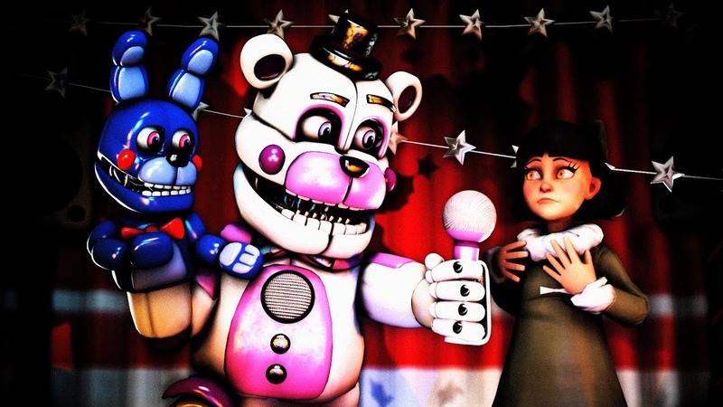 [FNAFSFM] My Dear Friend Funtime Freddy Olivia (FNAF 6 FNAF Sister Location animation)